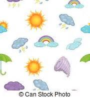 weather pattern drawing cartoon weather images vector illustration eps vector
