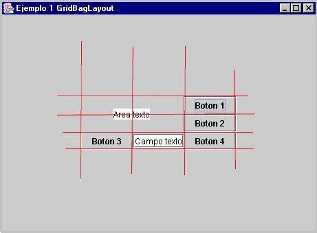 java layout graph ejemplo de uso del gridbaglayout