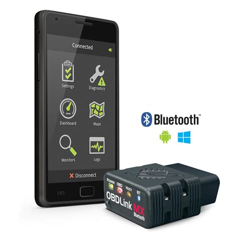 scan tools obdlink mx bluetooth obd ii scan tool for android windows