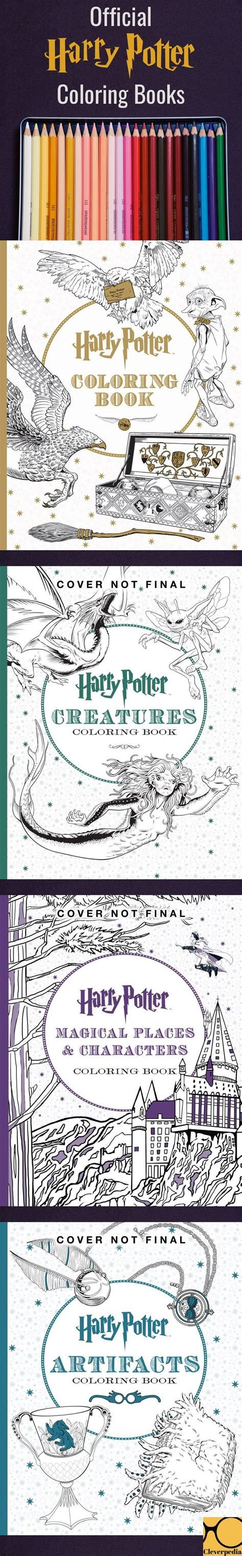 harry potter coloring book the works 1751 best images about kleurplaat on