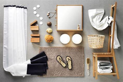 Ikea Badezimmer Textilien by Eine Collage Blauer Wei 223 Er Und Schwarzer
