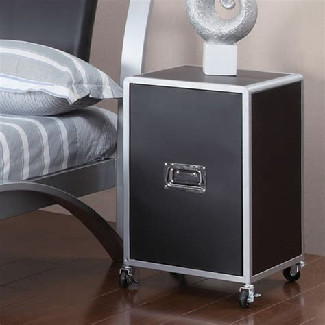 metal bedroom furniture sets dreamfurniture leclair black and metal youth bedroom
