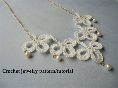 crochet jewelry patterns with free thread crochet jewelry patterns search results