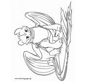 How To Train Your Dragon 2  Older Toothless Coloring Page