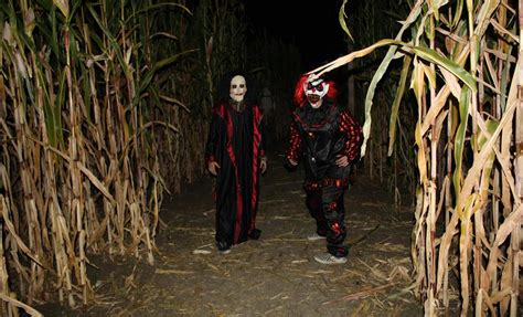 Corn Maze Haunted House by A List For All Fall