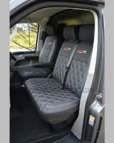 Seat Covers For Vw Transporter Vw Transporter T5 Seat Covers Black Pewter Grey W