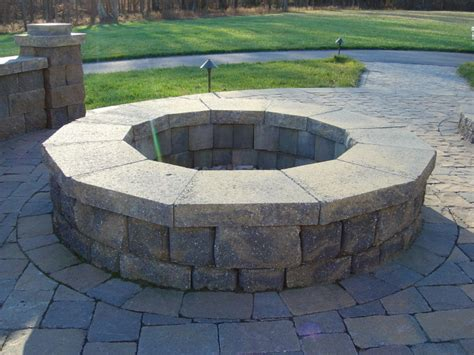 Circular Fire Pit Kit Round Fire Pit Kit Firepit Kits