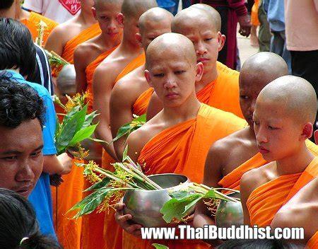 buddhist flower festival buddhism in thailand
