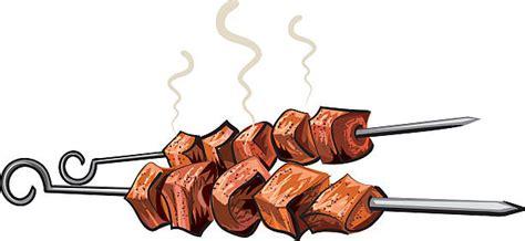 kebab clipart skewer clip vector images illustrations istock