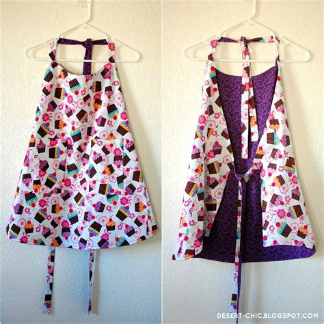 sewing pattern for apron desert chic sewing cupcake apron