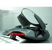 Audi Shark  Futuristic Flying Sports Vehicle My Modern Metropolis