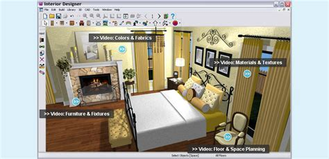interior home design software great bedroom design program to make the whole process