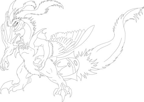 pokemon coloring pages black kyurem another white kyurem line art by chickenbusiness on deviantart