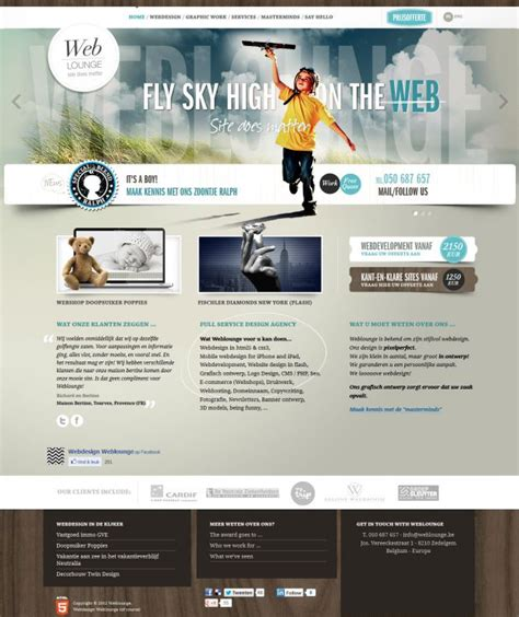 best homepage design inspiration webdesign weblounge web design graphic design