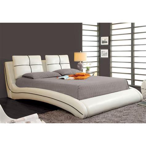 modern king size bed frame king size bed platform frame modern white upholstered