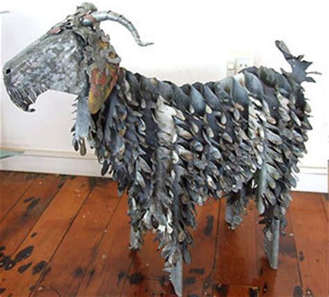 Metal Garden Nz Corrugated Iron Animals Sheep Corrugated Iron Goat
