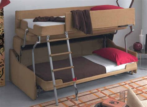 couch transforms into bunk bed watch innovative space saving sofa transforms into comfy