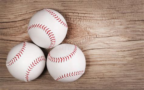 space balls woodworking baseball balls on wood background stock photo image