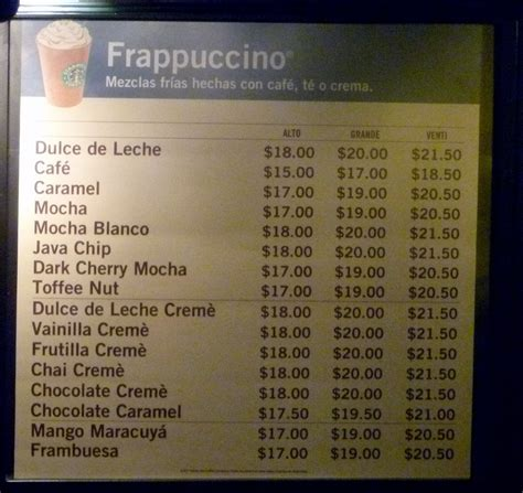 Search Results for ?Starbucks Menu Prices 2014? ? Calendar 2015