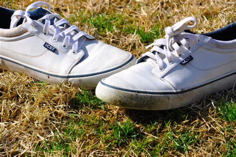how to remove stains from white shoes how to remove grass stains from shoes with pictures ehow