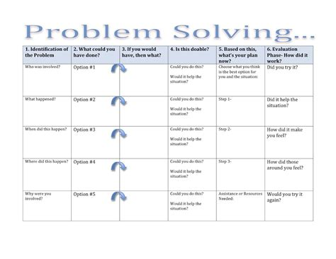 printable problem solving games for adults speech adult resources activities on pinterest aphasia