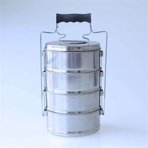 Promo Rantang Stainless 14cm 3 Susun Food Carrier Lunch Box 3 Layer nagako rantang susun rt 1404 decoco