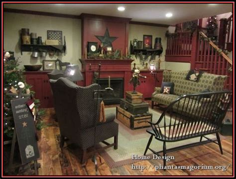 primitive decorating ideas for living room home design