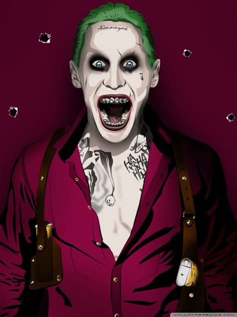 jared joker leto  hd desktop wallpaper   ultra hd