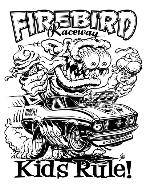 coloring pages hot rod cars muscle car hot rod drawings cliparts co