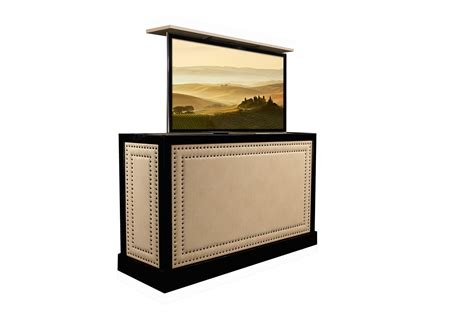 Flat Screen Tv Lift Cabinet by Tv Cabinet Pop Up Tv Cabinet Transitional Tv