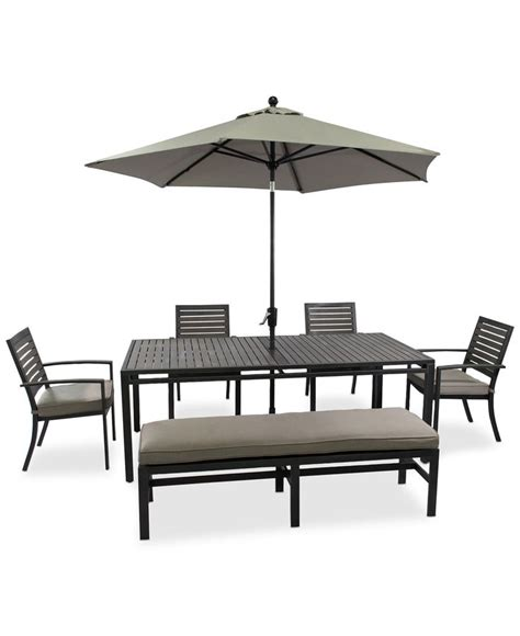 Patio Dining Set With Bench Patio Patio Dining Set With Bench Patio Dining Sets Clearance Deck Dining Furniture Patio