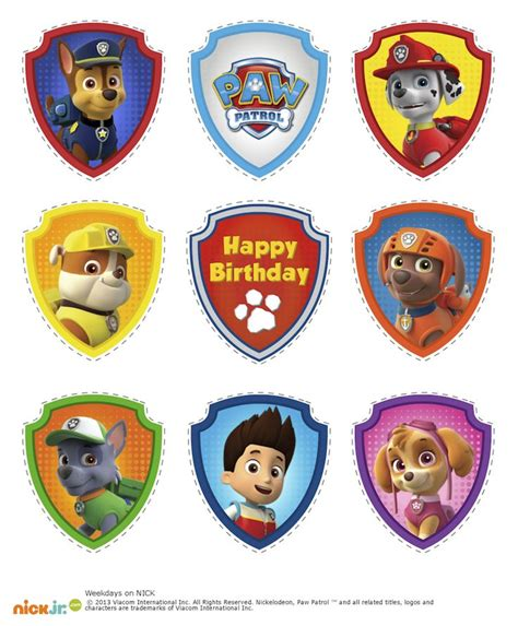 printable stickers for birthday best 25 paw patrol games free ideas on pinterest paw