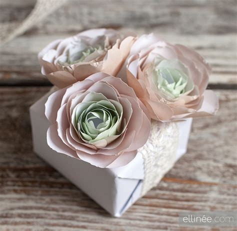 How To Make Paper Ranunculus - diy paper ranunculus pinlavie