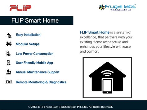 smart homes solutions flip smart home solutions