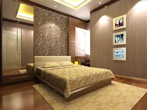 design interior apartemen 2 br menilkan kesan romantis dalam desain kamar tidur dengan