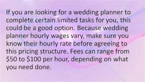 Wedding Planner Cost by Wedding Planner Cost Best Wedding Ideas Quotes