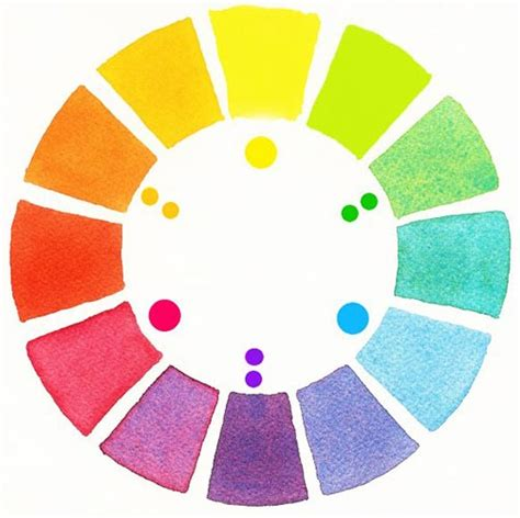 watercolor color wheel painting techniques