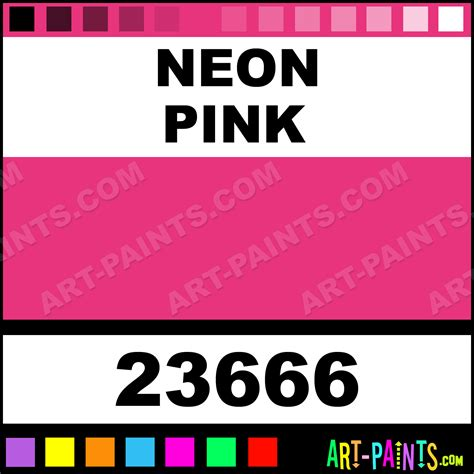 neon pink color code neon pink artist acrylic paints 23666 neon pink paint