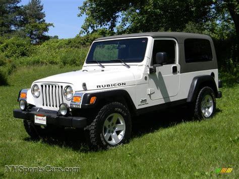 2005 jeep unlimited interior 2005 jeep wrangler unlimited rubicon 4x4 in stone white