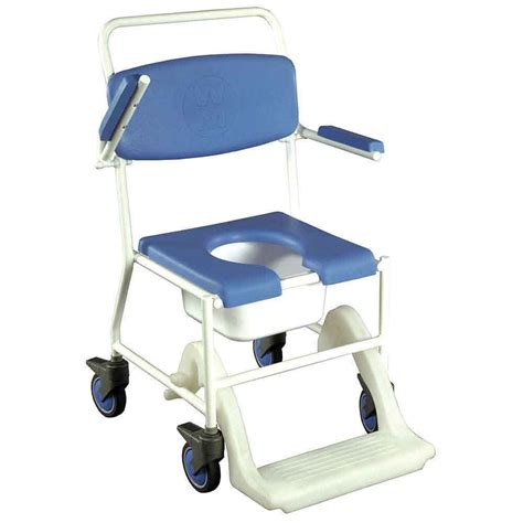 toilet seat commode mobile shower commode chair vat exempt nrs healthcare