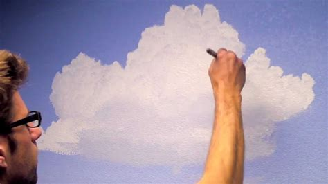 Sunset Wall Mural how to paint clouds in a room mural joe youtube