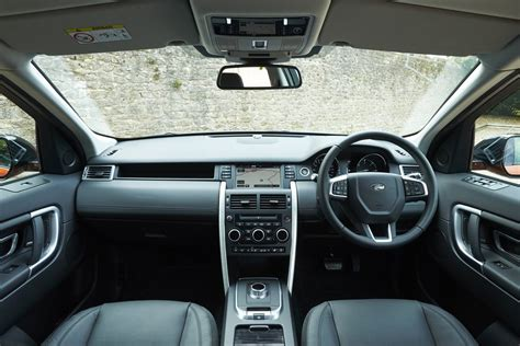 land rover discovery sport interior 2016 land rover discovery sport review