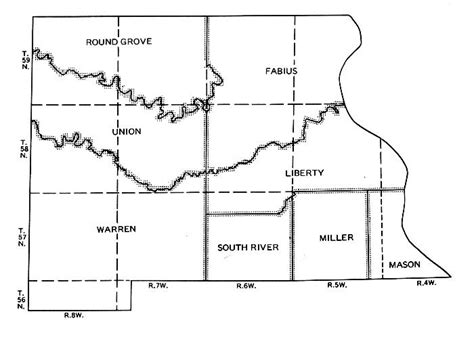 section layout township marion co maps