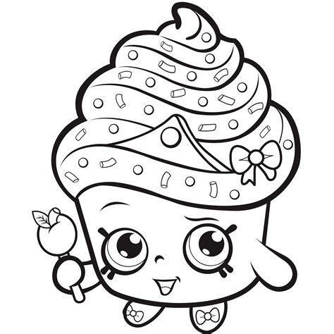 Coloring Pictures For Shopkins | shopkins coloring pages best coloring pages for kids