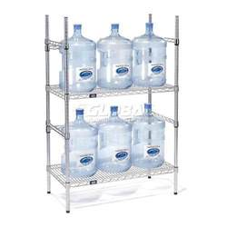 5 gallon water bottle storage rack 6 bottle capacity ebay