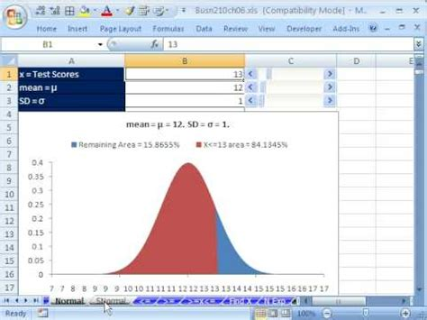 Bell Curve Excel 2010 Template by Bell Curve In Excel 2010 Template