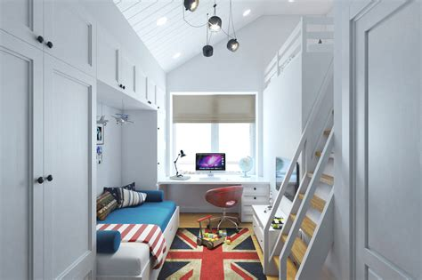 space design small teenage room design with a second floor sleeping
