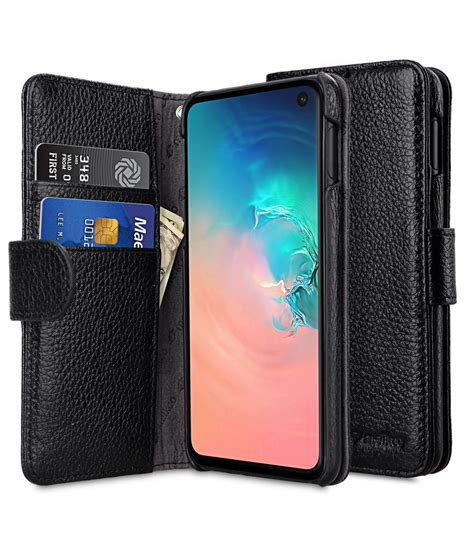 premium leather wallet book type case  samsung galaxy se