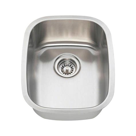 polaris sinks undermount stainless steel 15 in single