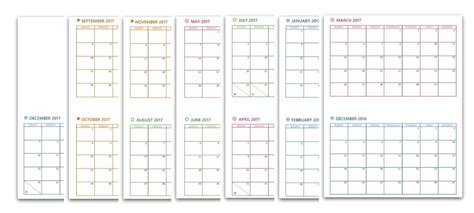 how to make a monthly calendar in pages mac 2017 free printable planner pages the make your own zone